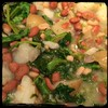 #homemade #Rapini #Potato #Beans #CucinaDelloZio - let summer add s&p to taste