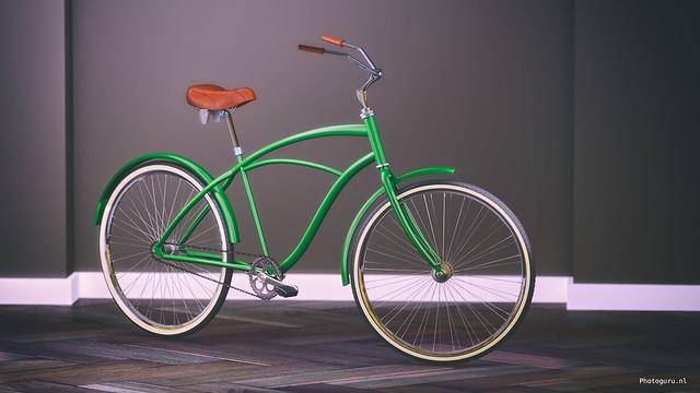 fiets profielaanzicht