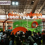 Nickelodeon booth at Play Fair NY @ Javits Center