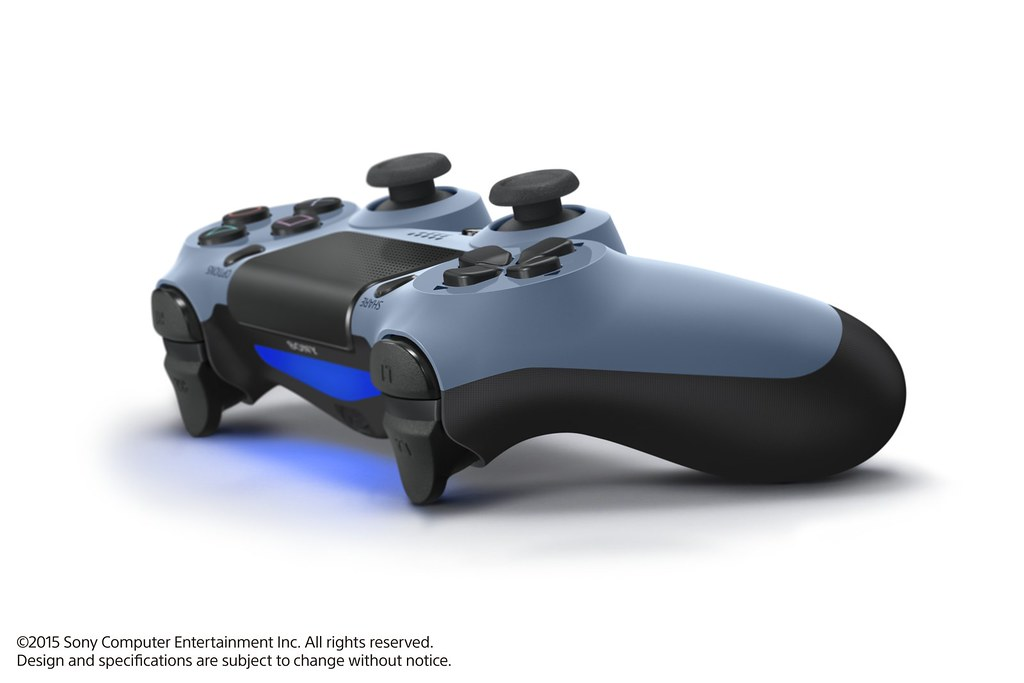 Gray Blue DualShock 4