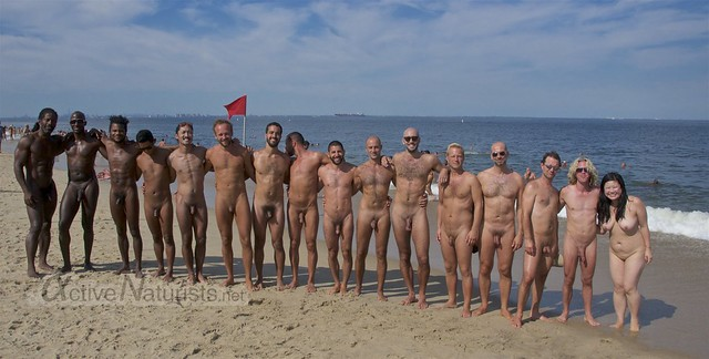 naturist 0001 Gunnison Beach, Sandy Hook, NJ, USA