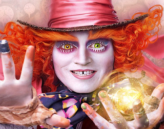 Johnny Depp As Mad Hatter Alice Through Looking Glass Wallpaper - StylishHDWallpapers