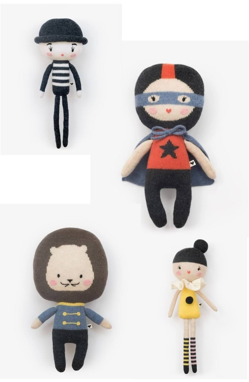 lauvely - knitted friends