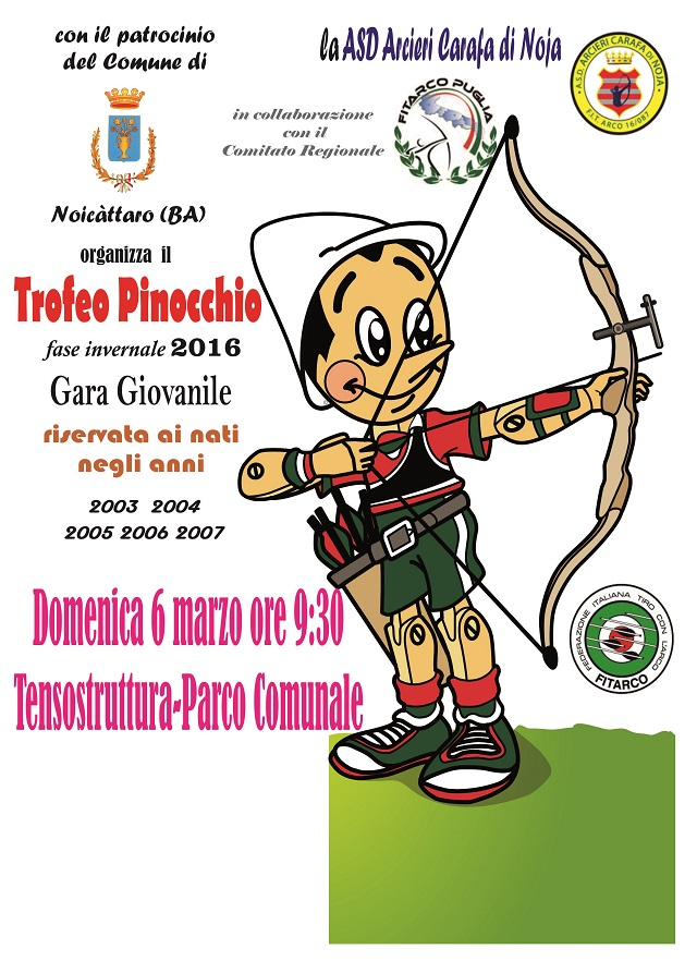 Noicattaro. Trofeo Pinocchio intero