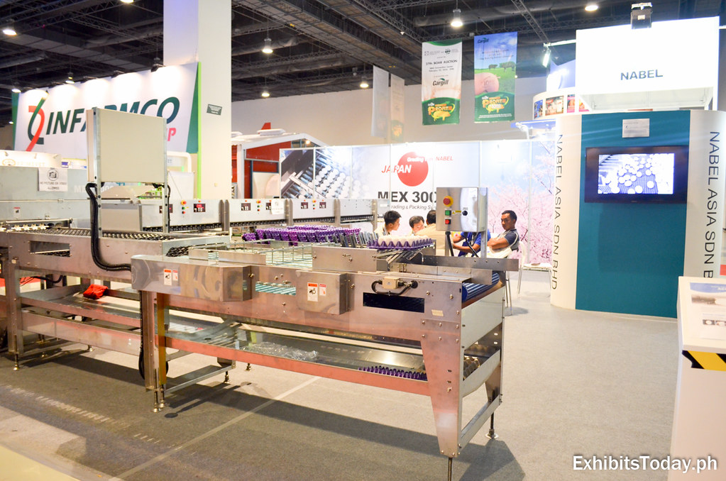 NABEL Co.,Ltd. Exhibit Stand