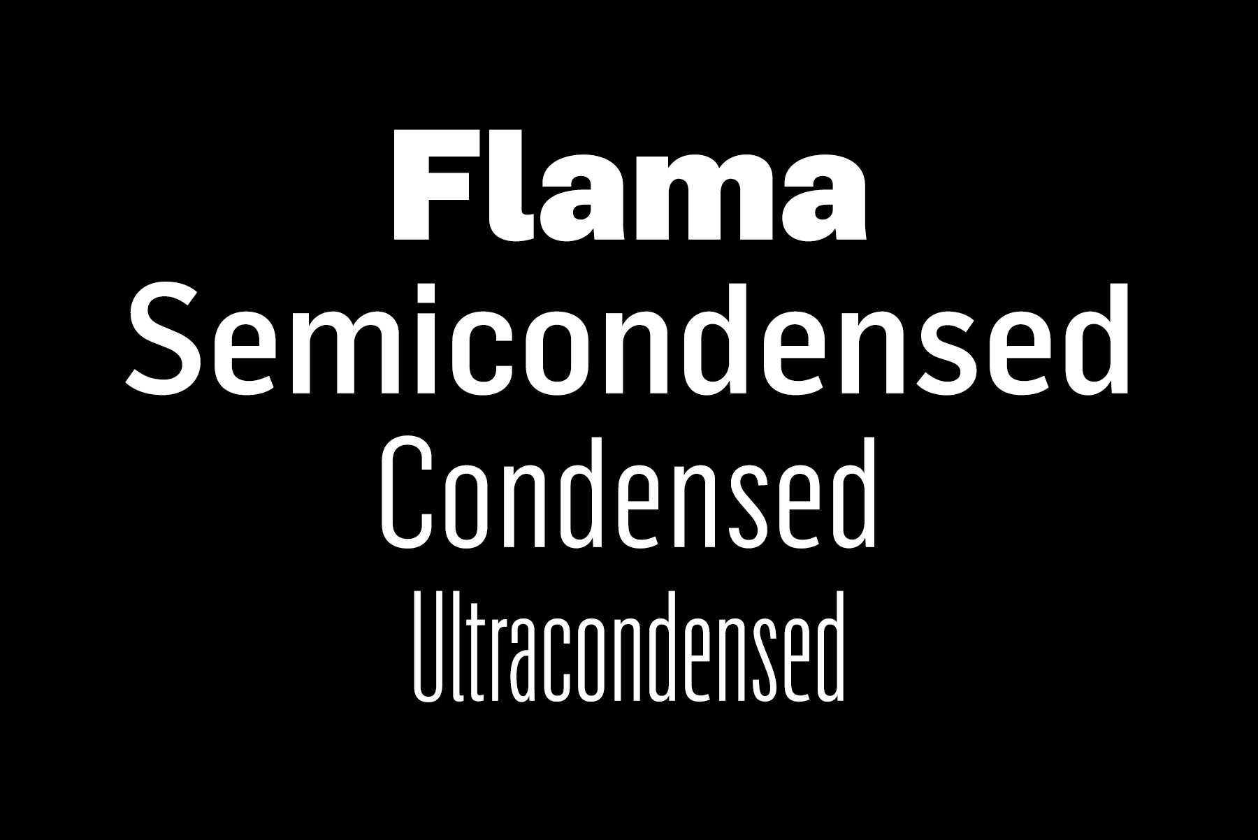 flama ultra-condensed