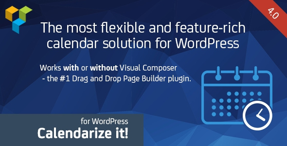 Codecanyon Calendarize it! for WordPress v4.0.7.67060