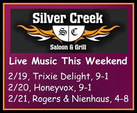 Silver Creek 2-19, thru 2-21-16