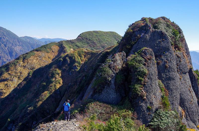 八海山を登山する