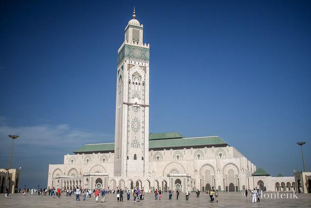 Hassan II Mosque 1, Casablanca, Morocco (2014)