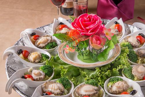 我要結婚了!到高雄尊龍大飯店場勘試菜經驗分享_泰式碧綠九孔鮑 (1)
