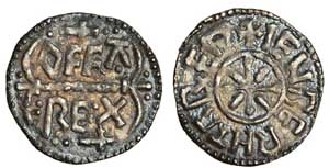 Penny commissioned by the Archbishops of Canterbury