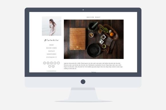 Flatwhite v1.0 – Food Blog Theme