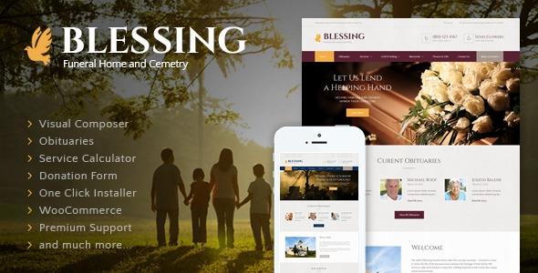 Blessing v2.2 - Funeral Home WordPress Theme