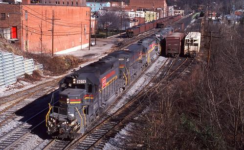 1979 12-18 1145 FL SD40-2-8078 N/B at Appalachia, VA