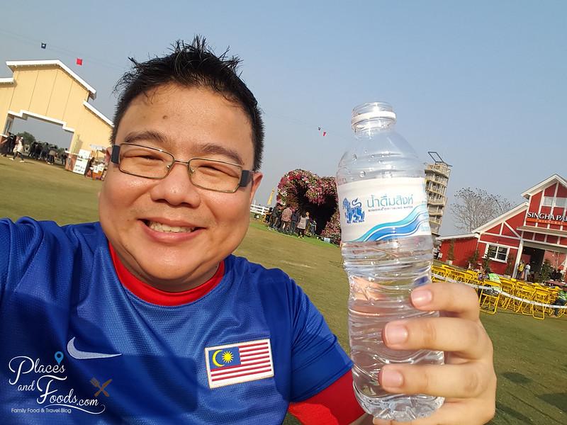 singha mineral water