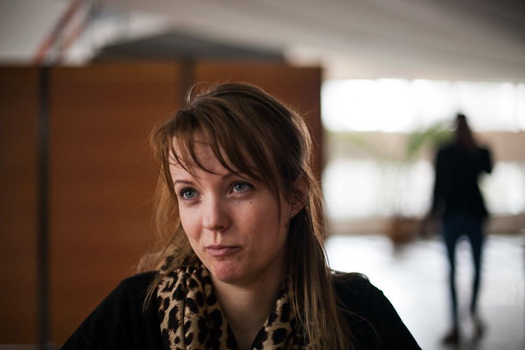 Edina tart kicsit attól, hogyan alakulnak édesanyja szabadulása után a dolgok | Fotó: Magócsi Márton