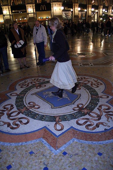 Mosaico del toro. © Paco Bellido, 2006