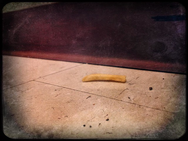 French Fry #stairwell #libraries #frenchfries #seenatwork