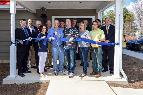 Ribbon Cutting Ceremony, April 1
