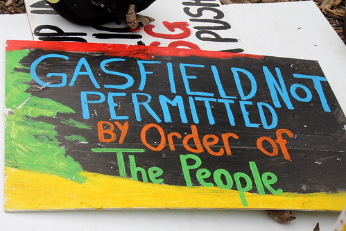 IMG 2823  Gasfield not permitted by order of the people!!