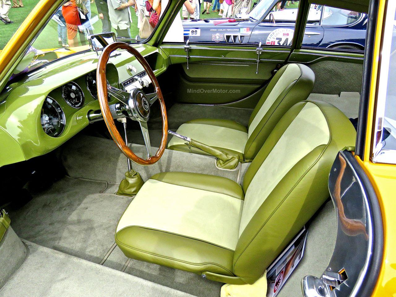 1952 Pegaso Z-102 Cupula Coupe Amelia Island 5