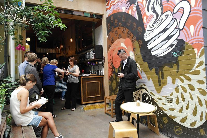 circa espresso cafe mural