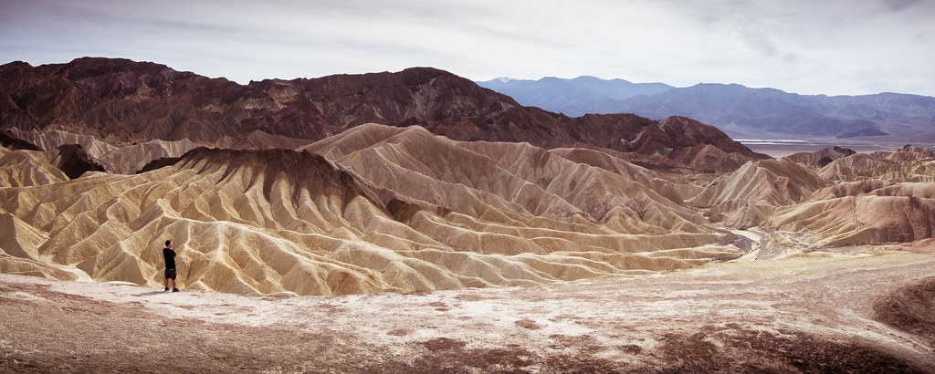 Zabriskie point - Death Valley National Park, United States - Landscape photography