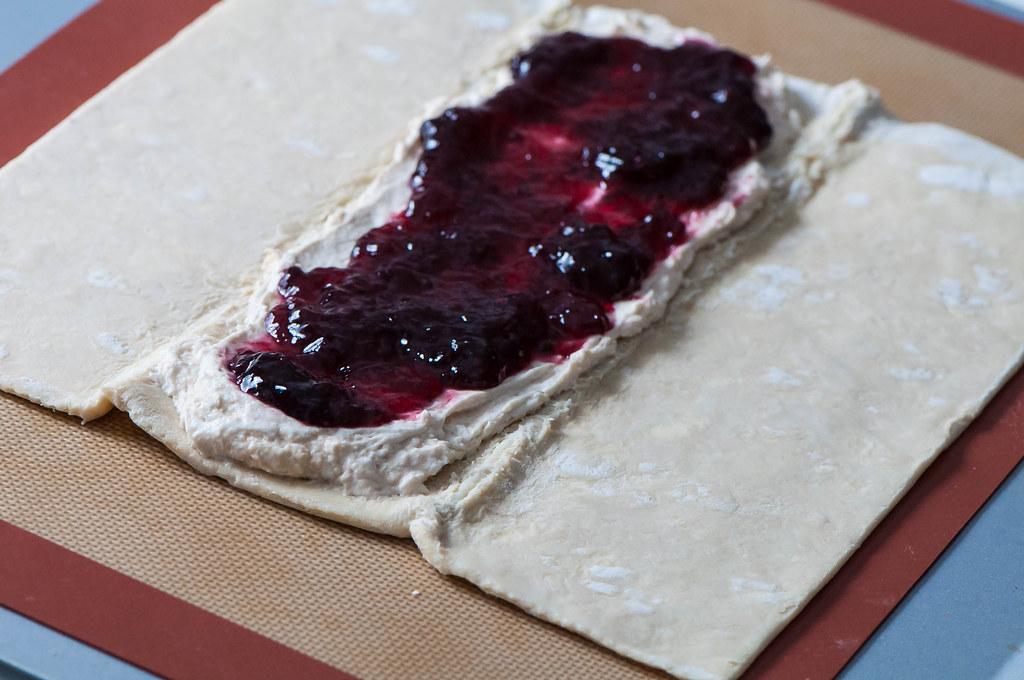 Cream Cheese Blackberry Braid
