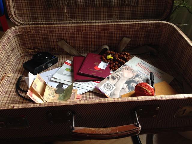 Das Packen beginnt - Travel preparations