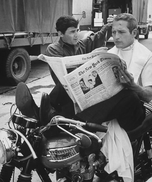 Jay Sebring;Paul Newman
