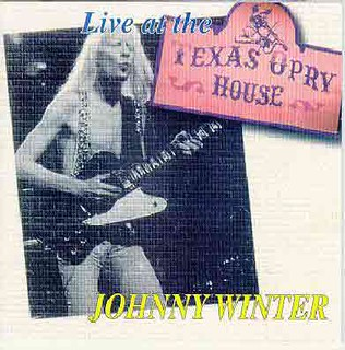 Johnny Winter's Live at the Texas Opry House