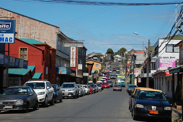 Streets of Ancud, Chiloé, Chile