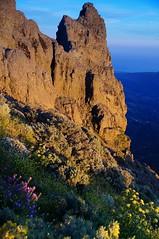 Pico De Las Nieves.  Highest point on Gran Canaria.