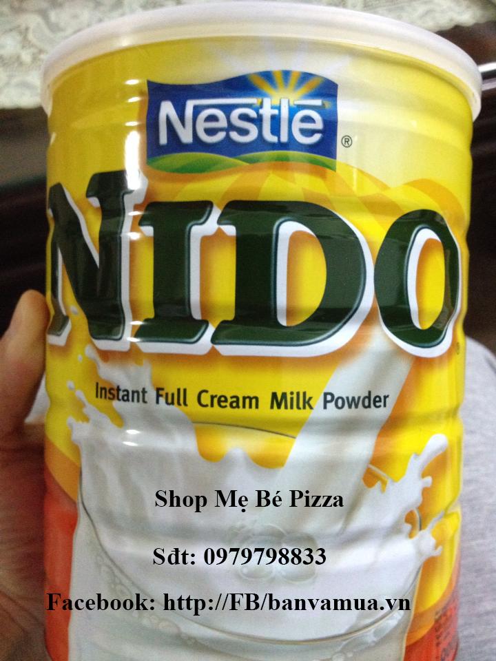 Sữa bột nguyên kem dành cho trẻ trên 1 tuổi và người lớn - 900g. Made in Netherlands