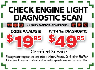 10- Eng. Check Engine Light Scan - Rite Way Spring AD10