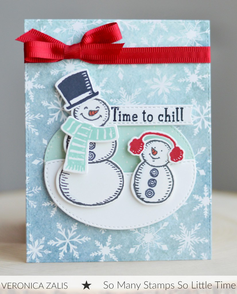 Stampin' Up! Snow Place stamps and dies