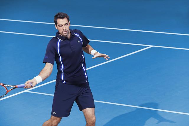 Jérémy Chardy Australian Open outfit