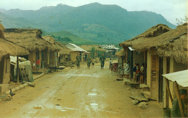 QUANG NGAI 1970 - Tra Bong village - Photo by vnvetlester