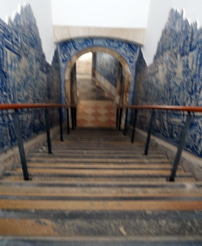 Tiled Stair Well