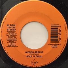 SOUL II SOUL:JAZZIE'S GROOVE(LABEL SIDE-B)