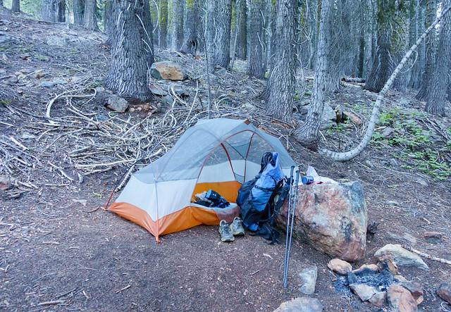 Crappy campsite