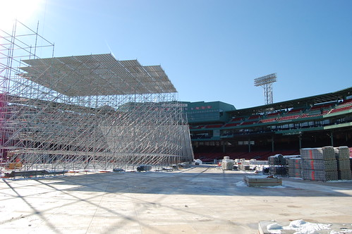 Fenway Big Air construction