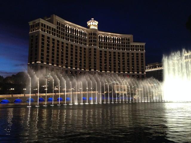 Bellagio Fountains, Las Vegas NV
