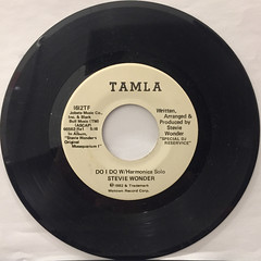 STEVIE WONDER:DO I DO W:Harmonica solo(REOCRD SIDE-B)