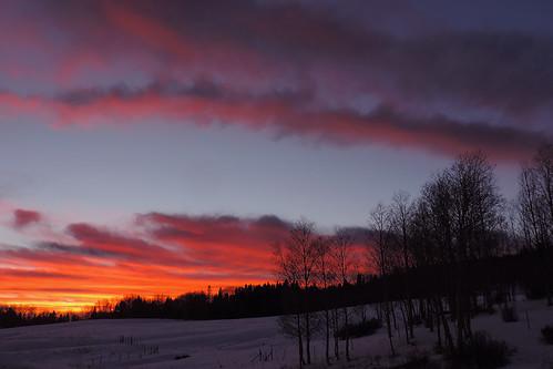 travel sunset sky usa cloud snow newmexico clouds landscape skies wintersunset outdoor bluesky roadtrip blueskies redsky cloudysky purplesky winterscene redskies rioarriba cocoonlvl3 cocoonlvl1 cocoonlvl2 cocoonlvl4 cocoonlvl5
