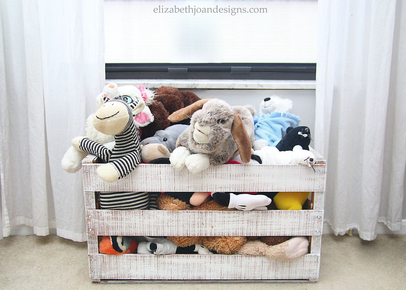 Stuffed Animal Storage Crate