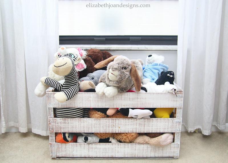 Stuffed Animal Storage Crate