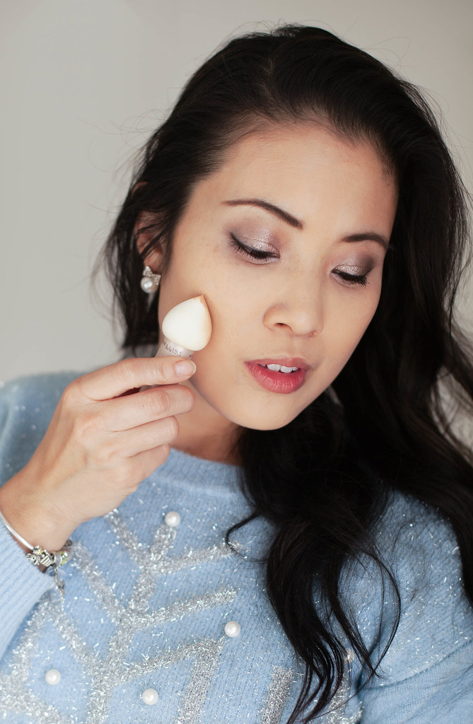 cute & little | petite fashion blog | maybelline dream velvet foundation, maybelline dream velvet blender | beauty tutorial