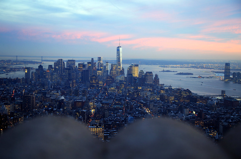 new-york-sunset-from-empire-state-building